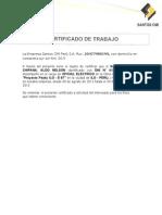 La Empresa Santos CMI Perú S