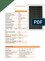 Panou Solar 240w