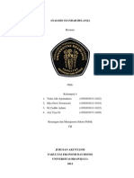 Kel.4 Analisis Standar Belanja