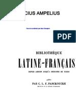 Ampelius, Lucius. Le Mémorial