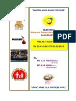 New P-Form Weekly Idsp Alert - Week 18 Banaskantha