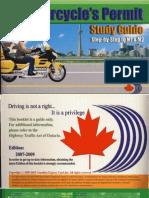 Ontario Motorcycle Handbook M1 M2