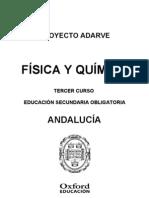 Programacion Adarve Fisica y Quimica 3ESO Andalucia