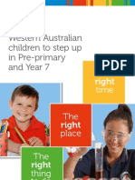 Pre-Primary and Year 7 - Booklet -6 December WEB ~ FINAL