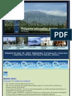 Dispatch for June 26 , 2013 Wednesday, 2 PIA Calabarzon PRs , 8 Weather Watch, 7 Regional Watch , 2 OFW Watch , 1 PNOY Speech, 15 Online News , 9 Photonews