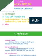 Chuong 4 Quan Ly Tiep Thi
