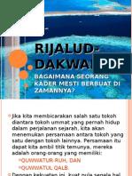 RIJALUD-DAKWAH