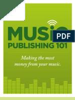 Music Publishing 101