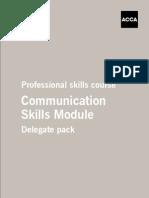 Communication Skills - Delegate