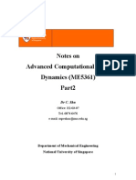 Advanced Computational Fluid(Shu Chang)