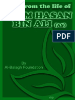 Rays From the Life of Imam Hasan Bin Ali (as) - Al Balagh Foundation - Xkp
