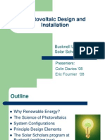 Photovoltaic Design and Installation Full Presentation COMPRESSED