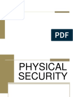 1. Physical Security