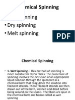 Chemical Spinning