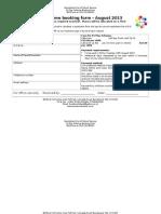 BOSS Booking Form P1 Playscheme August 2013