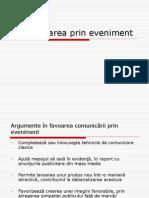 CURSUL 10 - Comunicarea Prin Eveniment + Sponsorizare + Mecenat