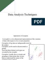 Data Analysis Techniques-MDT-NMR 04-03-13