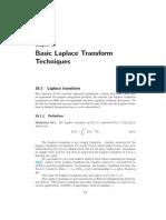 Laplace Transform Review