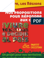 2012 - Legislativas - Programa - Partit Occitan - 8 Pages