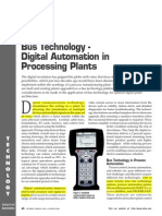 Digital Automation in Process Plants