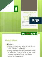 Internship at Nabil