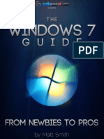 The Ultimate Windows 7 Guide From Newbies to Pros