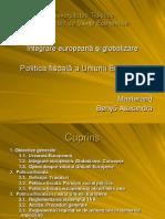 Politica Fiscala a Uniunii Europene