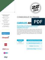 CommPresse Charleroi 2012