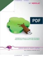 Annual Report, Nerolac