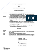 SK Kalender Akademik UNP Tahun 2013-2014