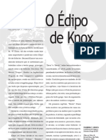 Sobre El Edipo de Knox