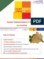Gender Implementation in Vienna