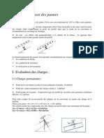 Dimensionnement Des Pannes CM66