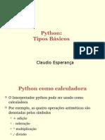 - Programando em Python modelos Básicos