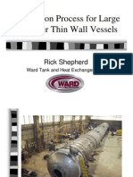Shepherd, Fabrication Process for Large Diameter Thin Wall Vessels