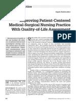 Improving Patient-Centered MS Nursing Practice With QOL Assement