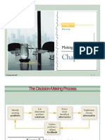 Management Chapter 7--Planning and Decision Making