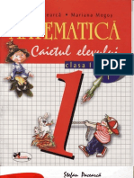 Carti. Matematica. Caietul.elevului. Clasa.1. Partea.1.(Stefan.pacearca.) Ed.aramis. TEKKEN