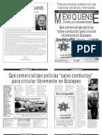Versión impresa del periódico El mexiquense  26 junio 2013