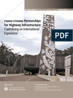 PPP for Highway Infrastructure