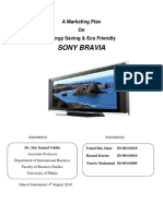 Sony Bravia marketing plan