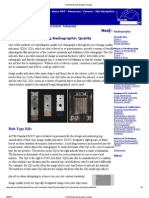 Controlling Radiographic Quality