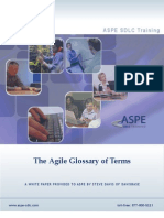 Agile Glossary of Terms