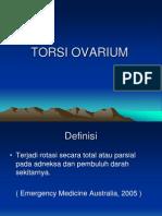TORSI OVARIUM