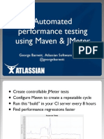 Automated Performance Testing with JMeter and Maven