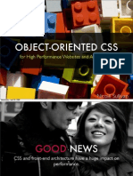 Object Oriented CSS - for high performance websites and applications