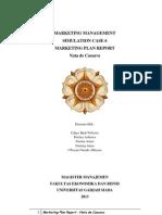 "mm2013_sc6_61A_group2 Marketing Management Class Business Plan ""New Product Development"" MM UGM"