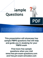 PMP Exam Sample Questions Set 4