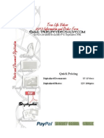 2013 Document and Photo Digitalization Ordering Form