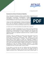 149889351 Carta Do Mov Psicanalise Autismo e Saude Publica MPASP a Presidente Dilma Rousseff (1)